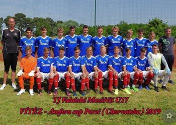 Foto č. 3- Valašský fotbal exkluzivně z Chorvatska! - U 17 Valmezu vyhrála Amfora Cup v Poreči