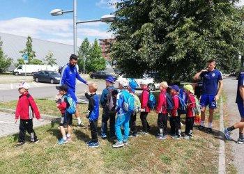 Foto č. 3- Valmez žije fotbalem i v létě! Dětský fotbalový kemp odstartoval! Den třetí