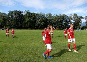 Foto č. 4- Divoká remíza Valmezu U 17 v generálce na novou sezonu