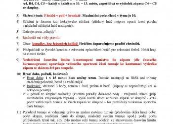 Foto č. 1- Rozlosování a propozice turnaje firem ve Valmezu