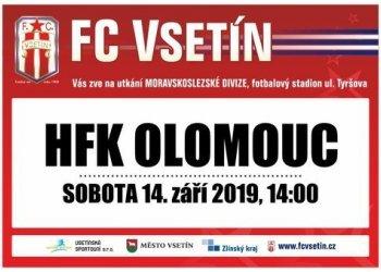 Foto č. 1- Nastoupí Vsetín proti HFK Olomouc s dalším překvapením?