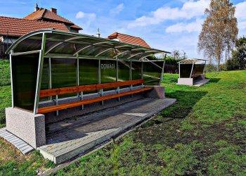 Foto č. 3- Zámečnictví Vinklár - Nabídka nejen pro fotbalové kluby! Takto jsme zrealizovali nové střídačky v Kelči!