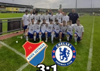 Foto č. 1- U 15 Baníku Ostrava porazila Chelsea