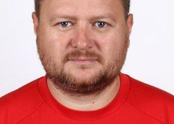 Foto č. 1- Trenérská výměna u týmu U 8 Valašského Meziříčí. Šulák střídá Šuláka