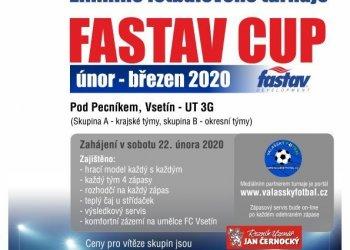 Foto č. 1- Klobouk dolů před FC Vsetín a firmou Fastav! Jediný zimní turnaj na Valašsku bude mít rekordní počet 12 týmů!