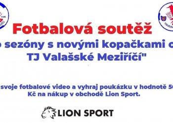 Foto č. 1- Soutěž - Do sezóny s novými kopačkami od TJ Valašské Meziříčí - 2. týden