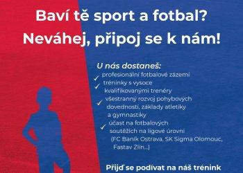 Foto č. 1- Jsi ročník 2012 a baví tě sport a fotbal?  Pojď hrát fotbal za Valašské Meziříčí!