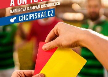 Foto č. 1- Miluješ fotbal a on Tě potřebuje - Náborová kampaň rozhodčích www.chcipiskat.cz