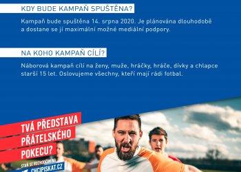 Foto č. 2- Miluješ fotbal a on Tě potřebuje - Náborová kampaň rozhodčích www.chcipiskat.cz