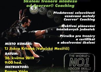Foto č. 1- V Krhové se koná otevřený trenérský kurz Coerver Coaching