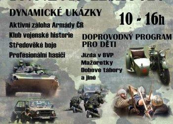Foto č. 1- Fotbalový areál v Leskovci nabídne Army den