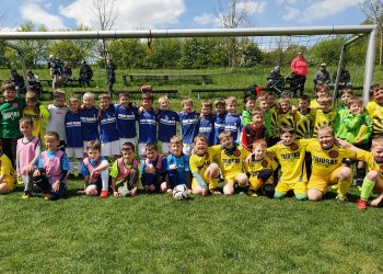 Foto č. 5- Dětský fotbalový festival v Krhové