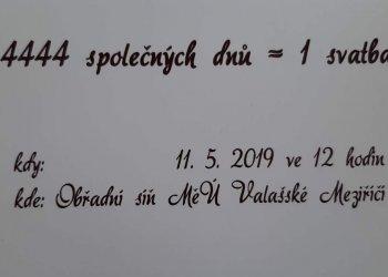 Foto č. 1- Valašský fotbal gratuluje Marku Macíčkovi I ke vstupu do manželského života
