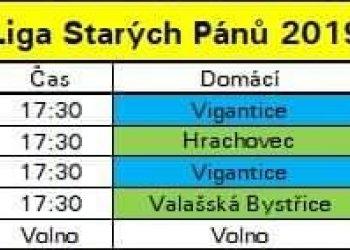 Foto č. 1- Vigantice si zahrály přípravu na Ligu starých pánů 2019 se slovenskou Korňou