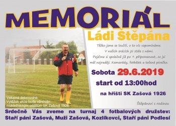 Foto č. 1- Blíží se 7. ročník Memoriálu Ládi Štěpána