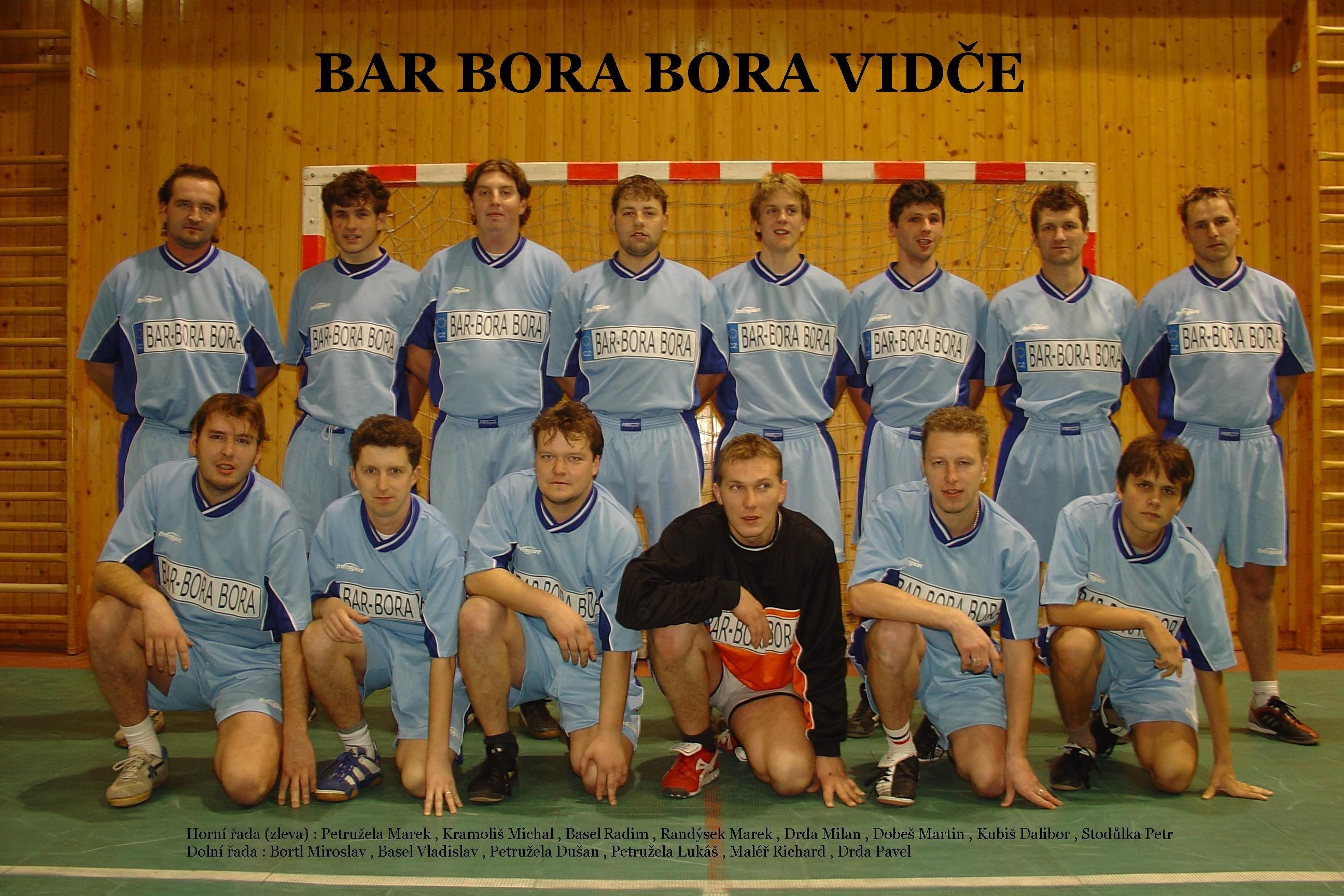 Bar Bora Bora Vidče jde zaslouženě do okresního přeboru
